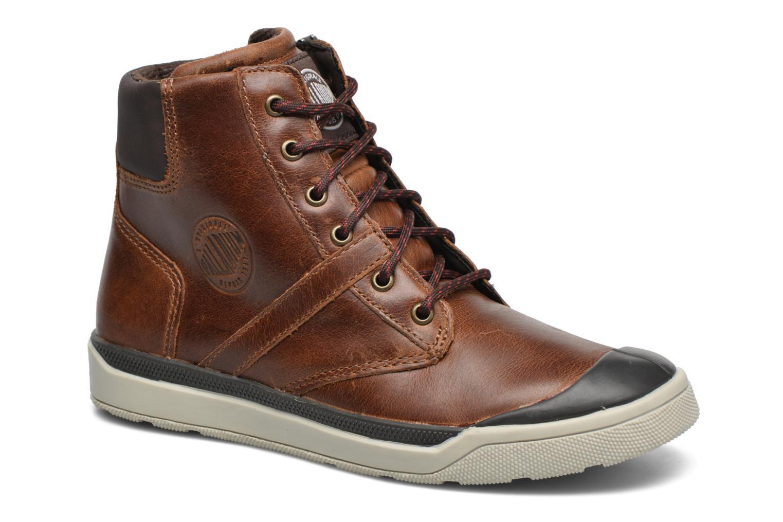 Bottines et boots Palladium PALARU CUF L K Marron vue détail/paire