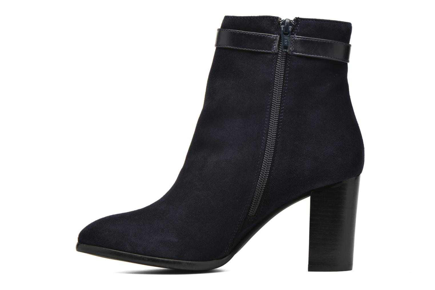 Ankle boots Georgia Rose Tarik Blue front view