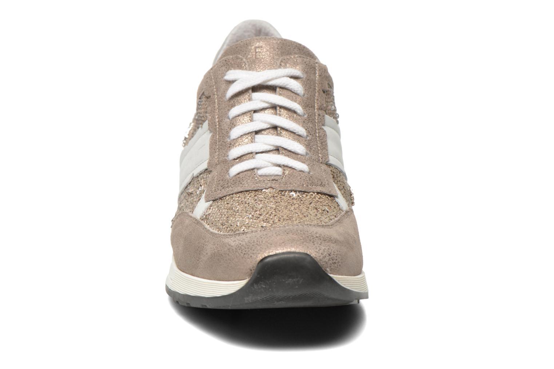 Baskets Elizabeth Stuart Gap 984 Or et bronze vue portées chaussures