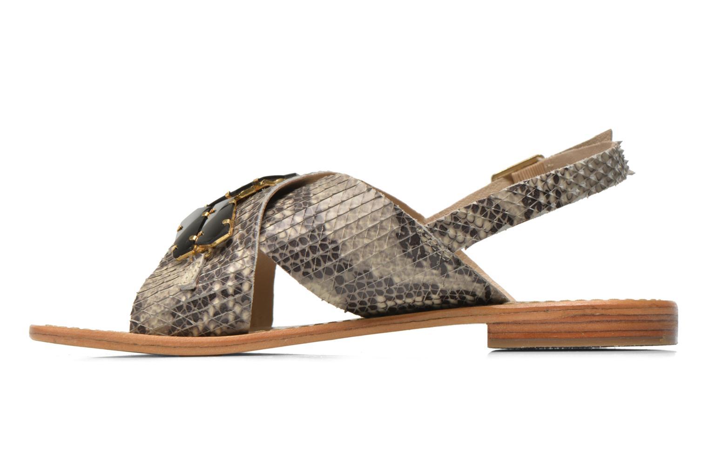 Sandales et nu-pieds Elizabeth Stuart Halias/SM 889 Beige vue face
