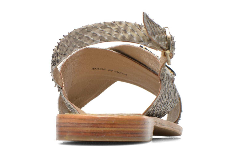 Sandales et nu-pieds Elizabeth Stuart Halias/SM 889 Beige vue droite