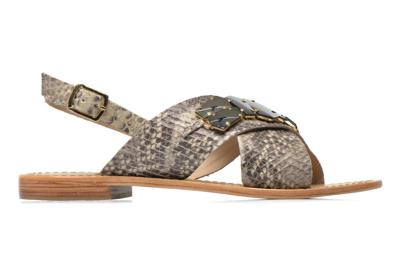 Sandales et nu-pieds Elizabeth Stuart Halias/SM 889 Beige vue derrière