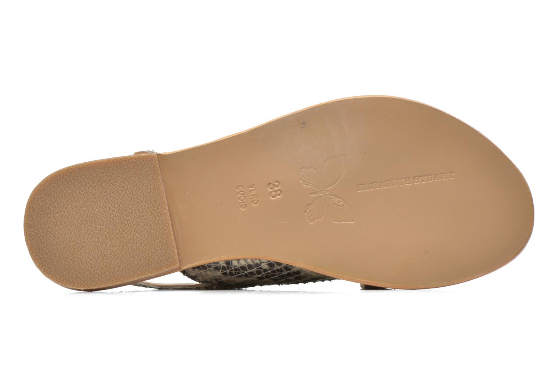 Sandales et nu-pieds Elizabeth Stuart Halias/SM 889 Beige vue haut