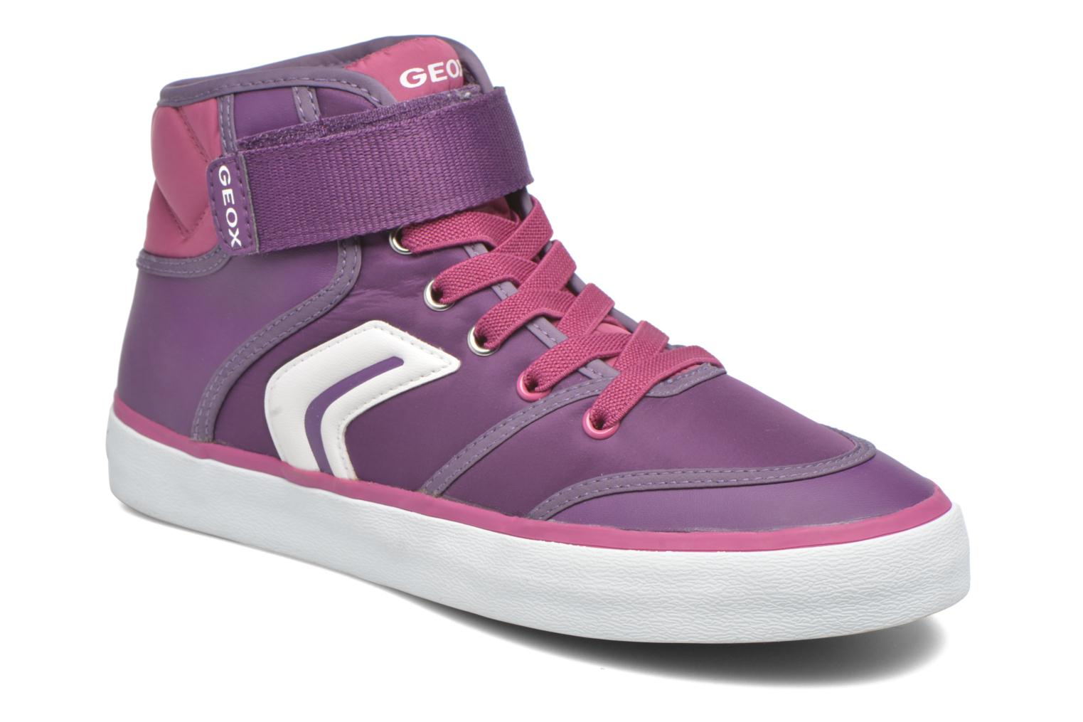 Baskets Geox JR Ciak Girl J5404A0 Violet vue détail/paire