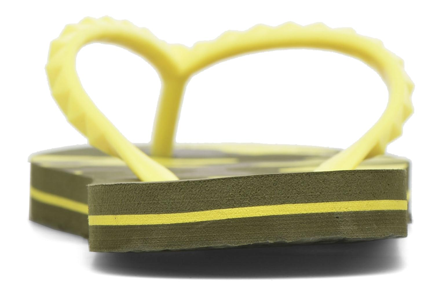Tongs Gioseppo Frappe Jaune vue droite