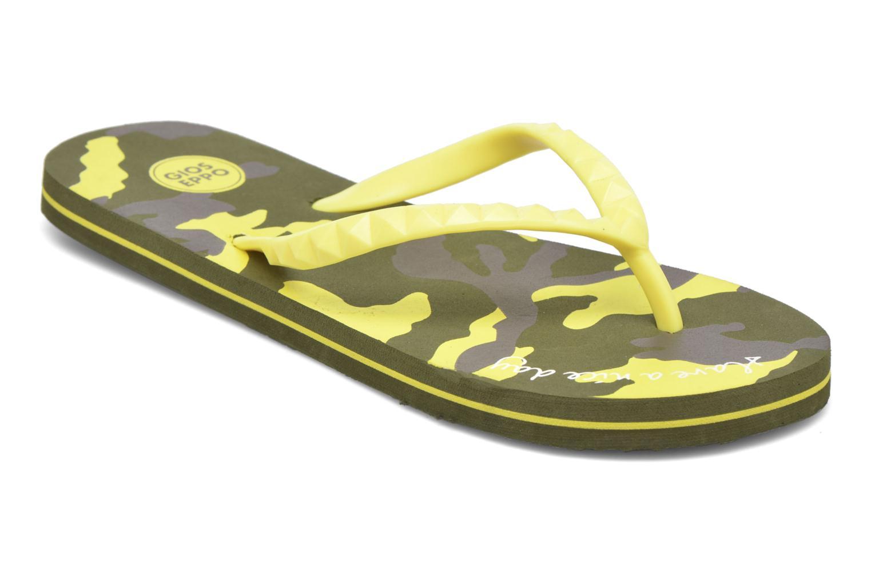 Zehensandalen Gioseppo Frappe gelb detaillierte ansicht/modell