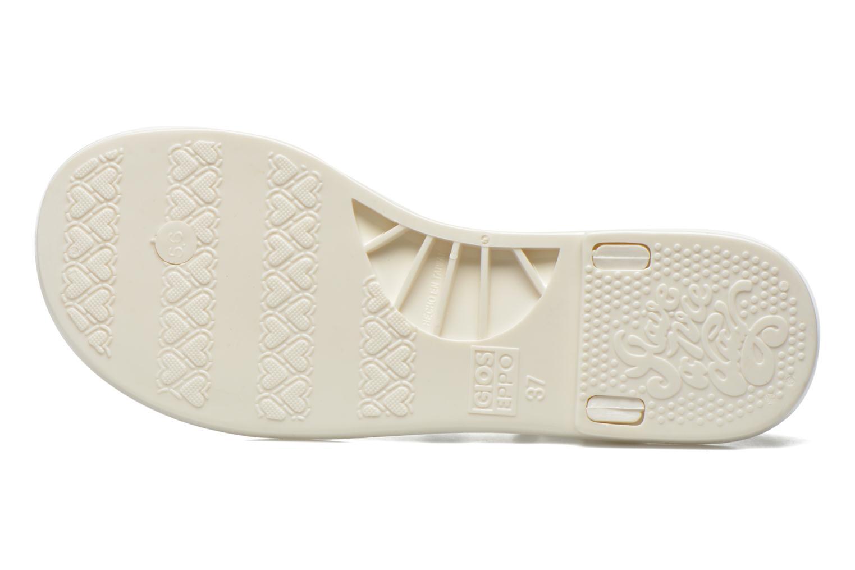 Sandales et nu-pieds Gioseppo Vaixell Blanc vue haut