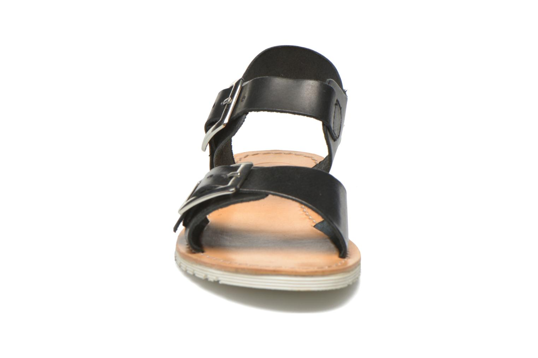Sandales et nu-pieds Gioseppo Karina Noir vue portées chaussures
