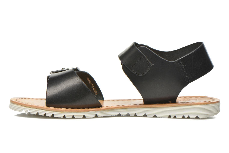 Sandales et nu-pieds Gioseppo Karina Noir vue face
