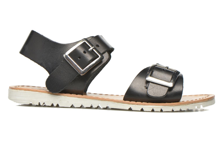 Sandales et nu-pieds Gioseppo Karina Noir vue derrière