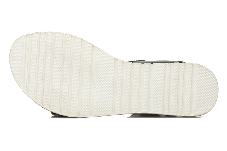 Sandales et nu-pieds Gioseppo Karina Noir vue haut