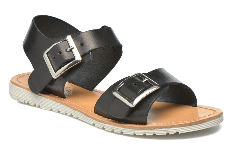 Sandales et nu-pieds Gioseppo Karina Noir vue détail/paire