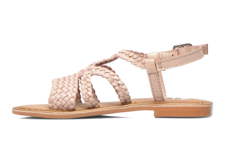 Sandales et nu-pieds Gioseppo Jacinthe Rose vue face
