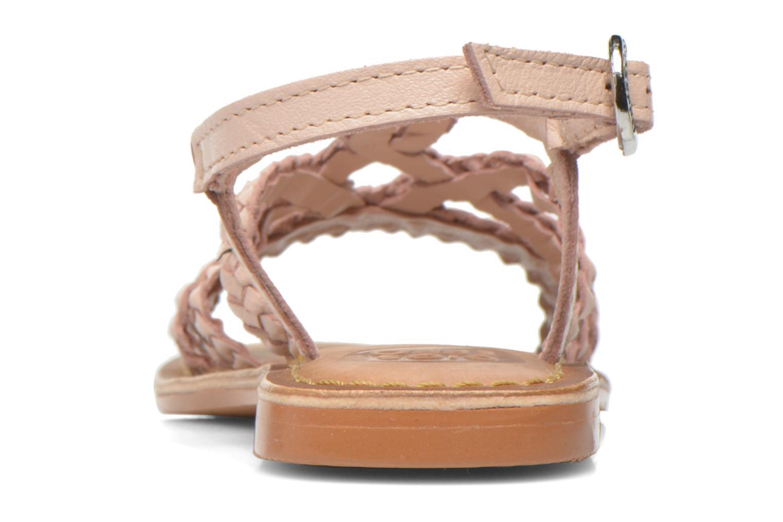 Sandales et nu-pieds Gioseppo Jacinthe Rose vue droite
