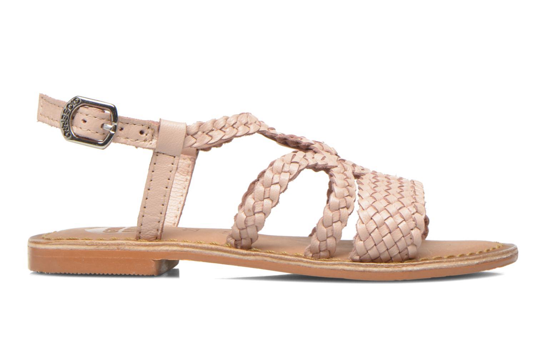 Sandales et nu-pieds Gioseppo Jacinthe Rose vue derrière