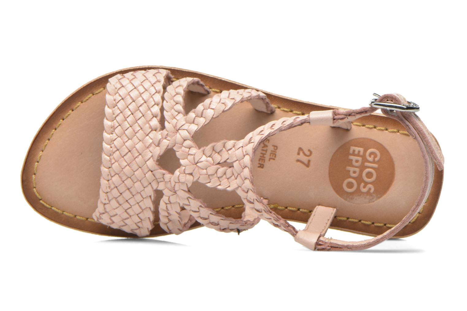 Sandals Gioseppo Jacinthe Pink view from the left