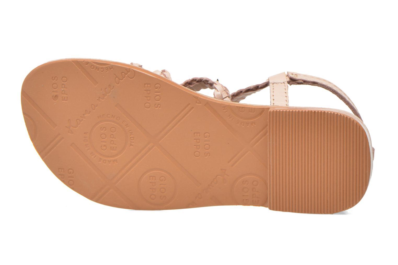 Sandales et nu-pieds Gioseppo Jacinthe Rose vue haut