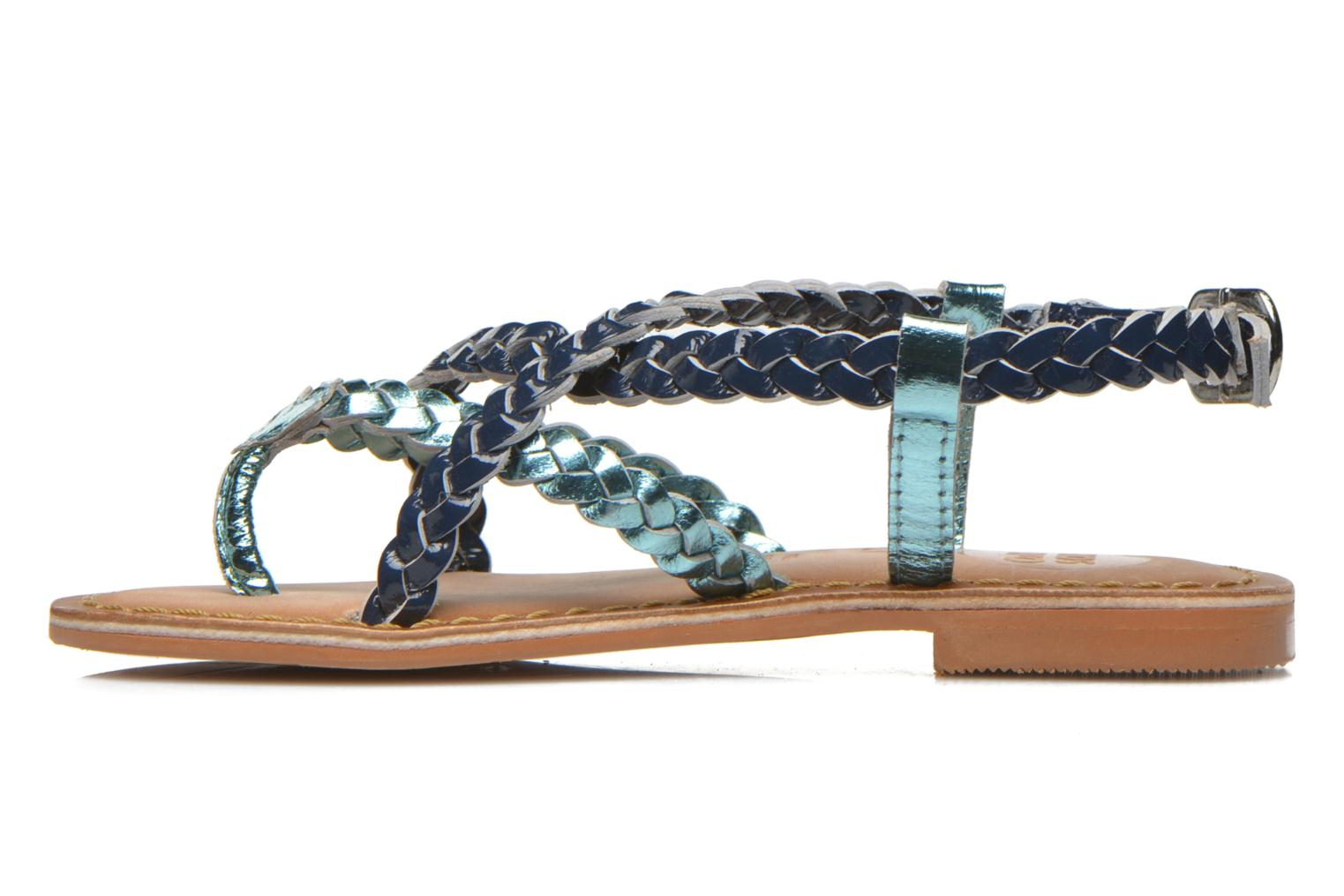Sandals Gioseppo Orchidee Blue front view