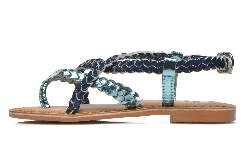 Sandales et nu-pieds Gioseppo Orchidee Bleu vue face