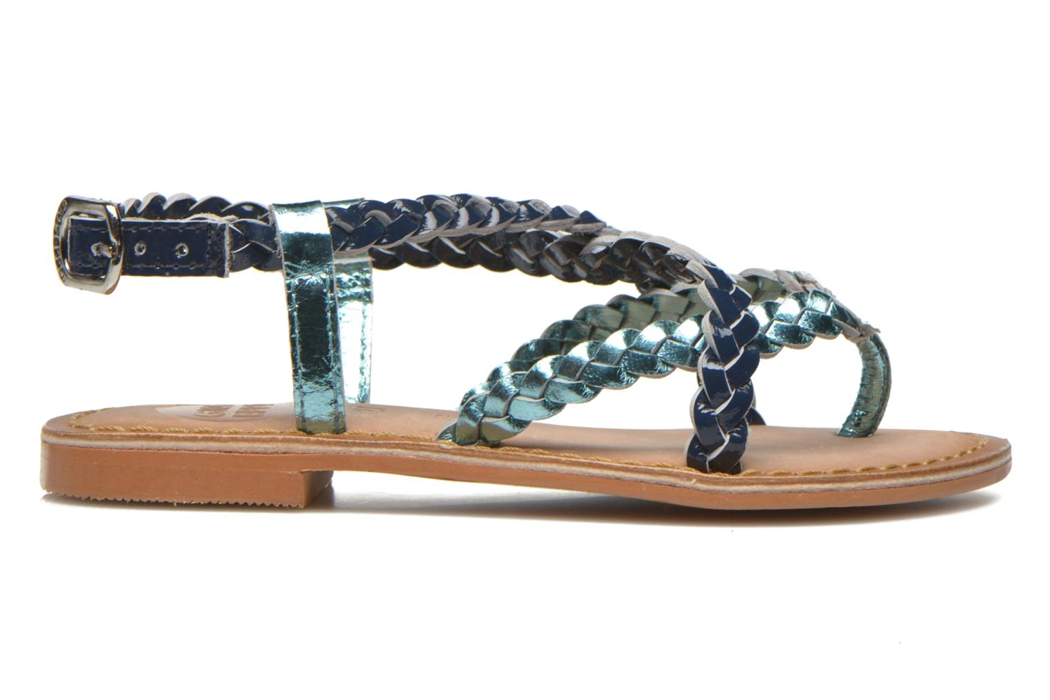 Sandals Gioseppo Orchidee Blue back view