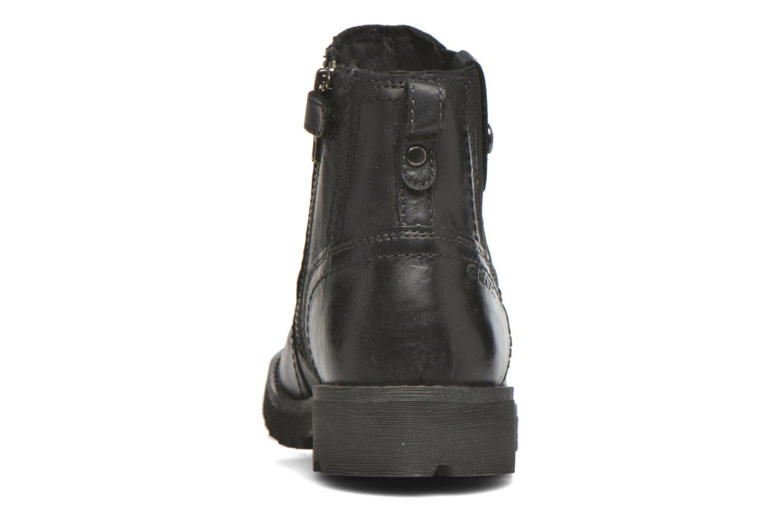 Bottines et boots Geox JR Axel Boy J5486A Noir vue droite