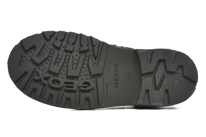 Bottines et boots Geox JR Axel Boy J5486A Noir vue haut