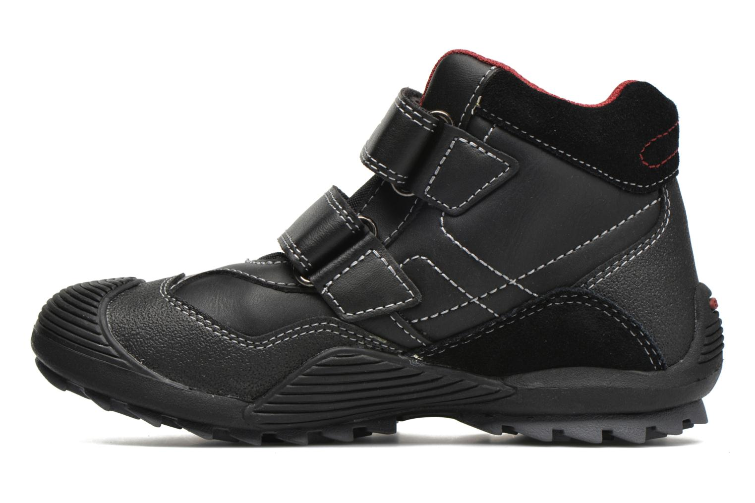 Trainers Geox JR Savage J5424A Black front view