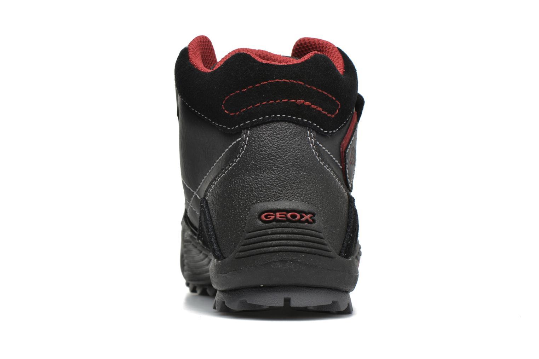 Sneakers Geox JR Savage J5424A Nero immagine destra