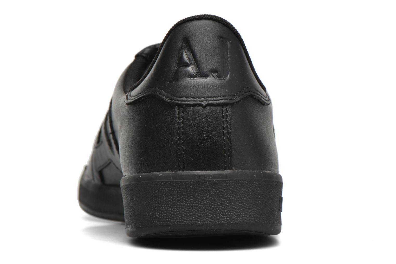 Sneakers Armani Jeans Matteo Svart Bild från höger sidan