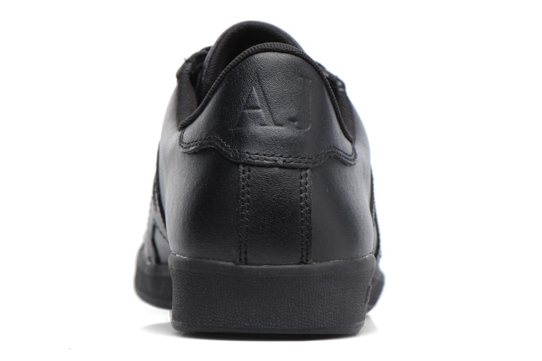 Baskets Armani Jeans Matteo Noir vue droite