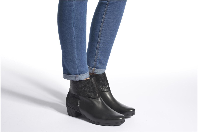 Bottines et boots Mephisto Iris Noir vue bas / vue portée sac