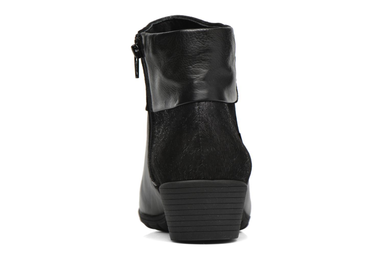 Bottines et boots Mephisto Iris Noir vue droite