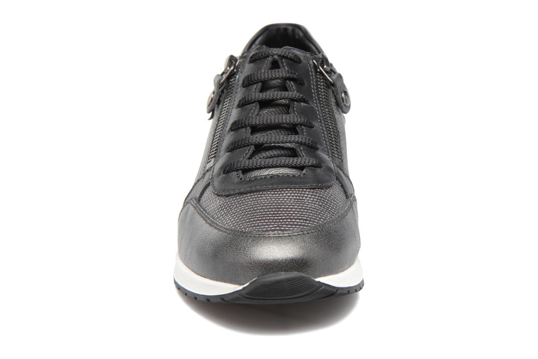 Baskets Mephisto Nona Gris vue portées chaussures