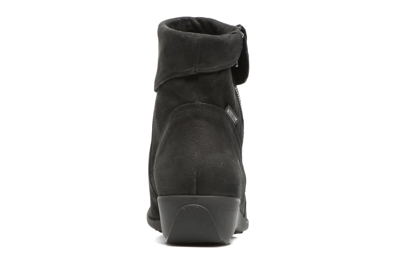 Bottines et boots Mephisto Seddy Noir vue droite