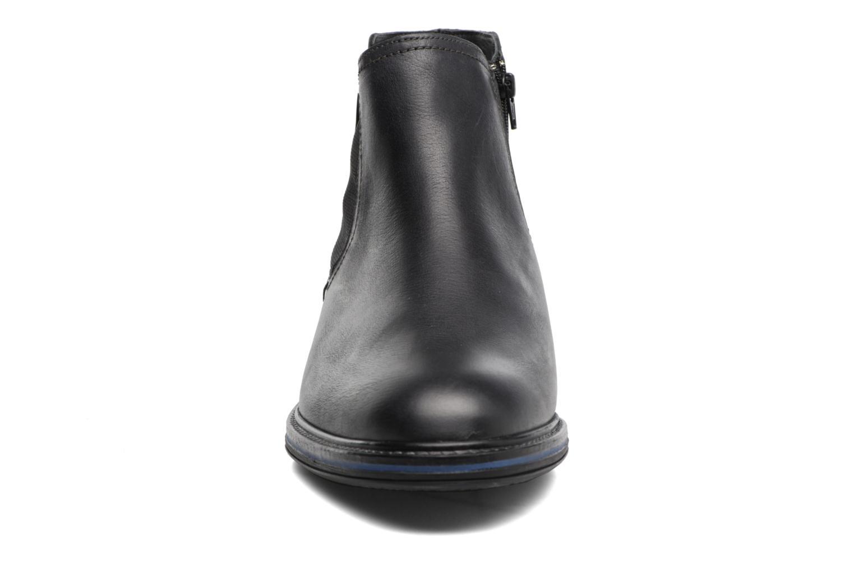 Bottines et boots Mephisto Willem Noir vue portées chaussures