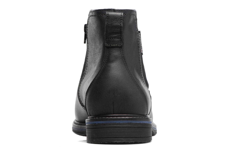 Bottines et boots Mephisto Willem Noir vue droite