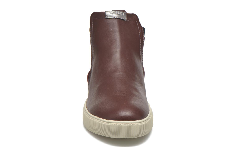 Sneakers P-L-D-M By Palladium Tinsel Bordò modello indossato