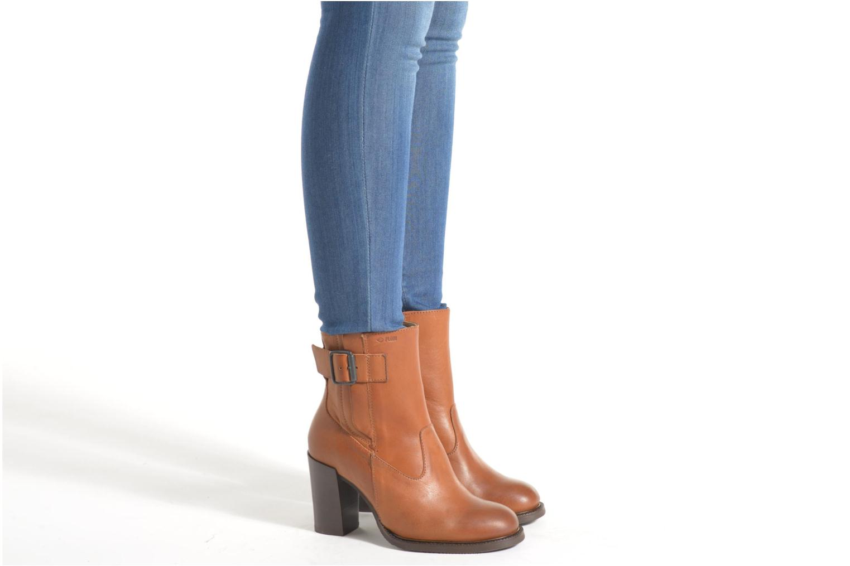 Bottines et boots P-L-D-M By Palladium Hill IBX Noir vue bas / vue portée sac
