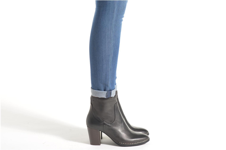 Bottines et boots P-L-D-M By Palladium Onside IBX Bordeaux vue bas / vue portée sac