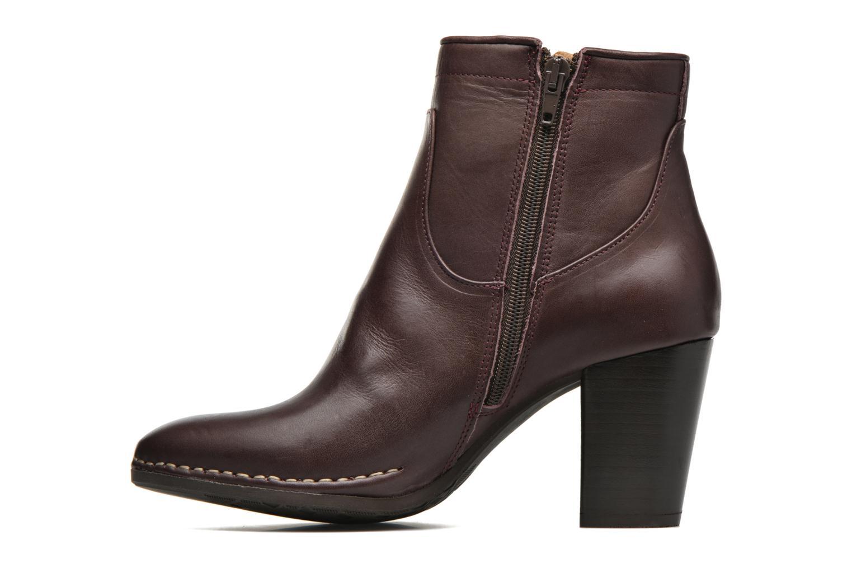 Bottines et boots P-L-D-M By Palladium Onside IBX Bordeaux vue face