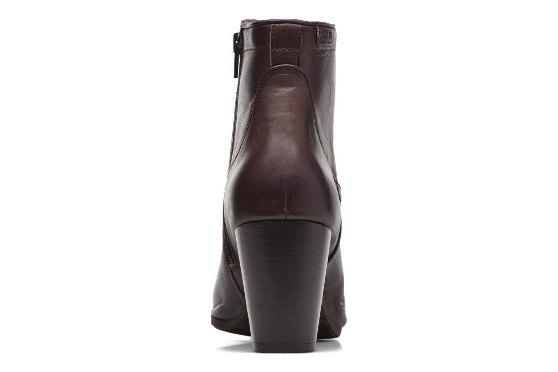 Bottines et boots P-L-D-M By Palladium Onside IBX Bordeaux vue droite