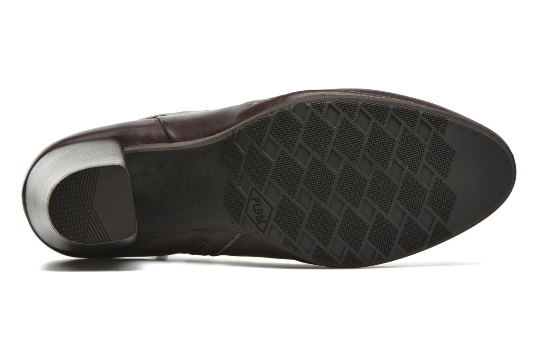 Bottines et boots P-L-D-M By Palladium Onside IBX Bordeaux vue haut