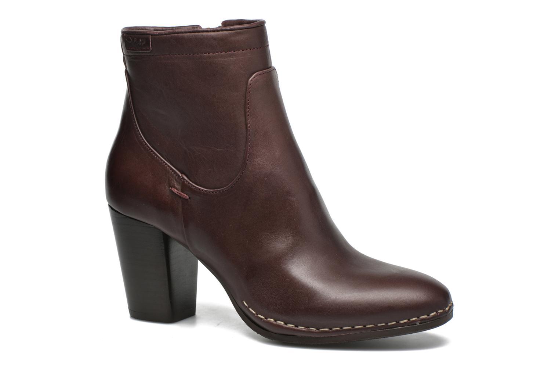 Bottines et boots P-L-D-M By Palladium Onside IBX Bordeaux vue détail/paire