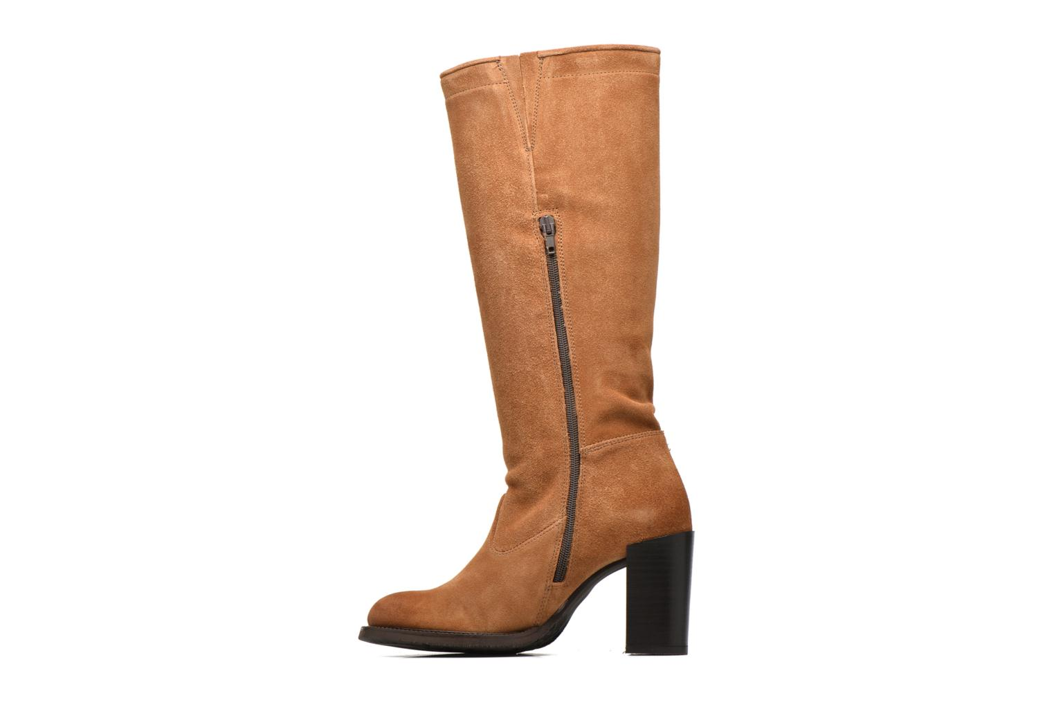 Bottes P-L-D-M By Palladium Hartville Sud Marron vue face
