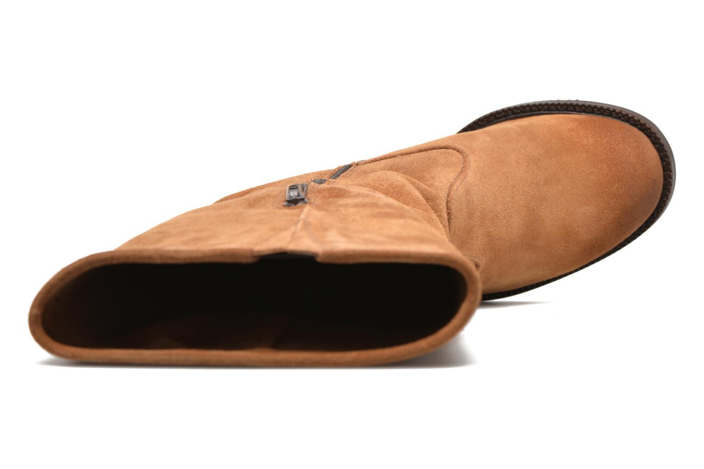 Stiefel P-L-D-M By Palladium Hartville Sud braun ansicht von links