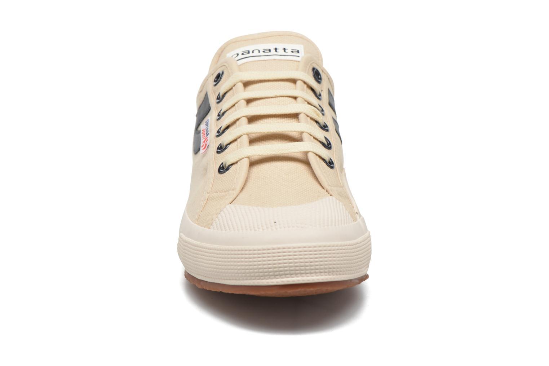 Sneaker Superga 2750 Cotu Panatta beige schuhe getragen