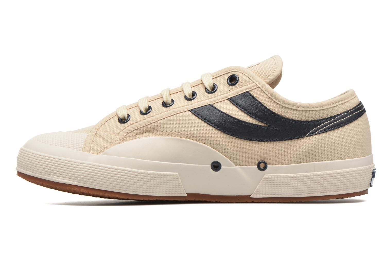 Sneaker Superga 2750 Cotu Panatta beige ansicht von vorne