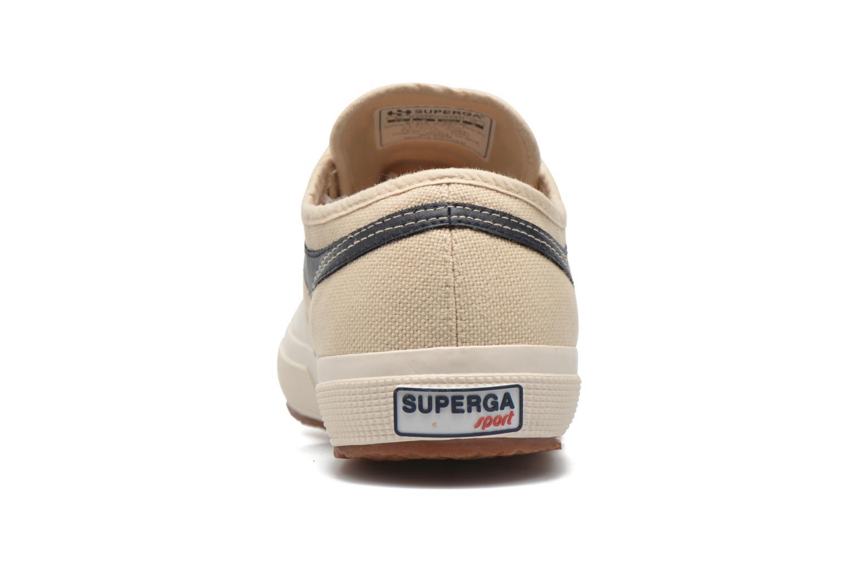 Sneaker Superga 2750 Cotu Panatta beige ansicht von rechts