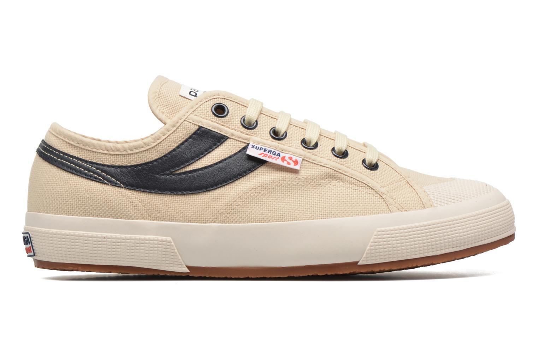 Sneaker Superga 2750 Cotu Panatta beige ansicht von hinten