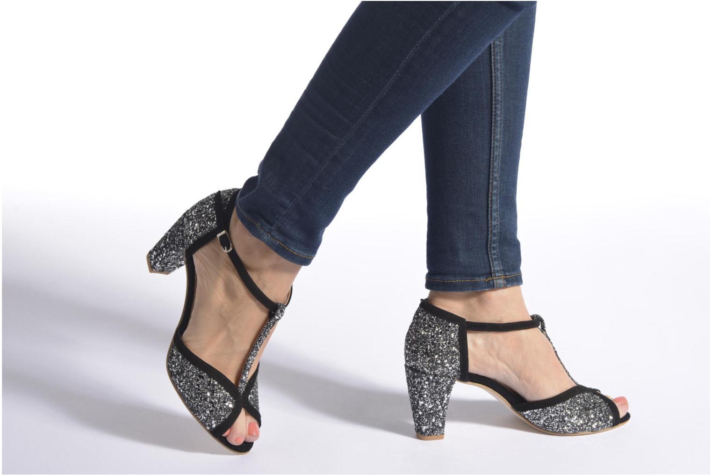 Zapatos de tacón Jonak Damaris Negro vista de abajo
